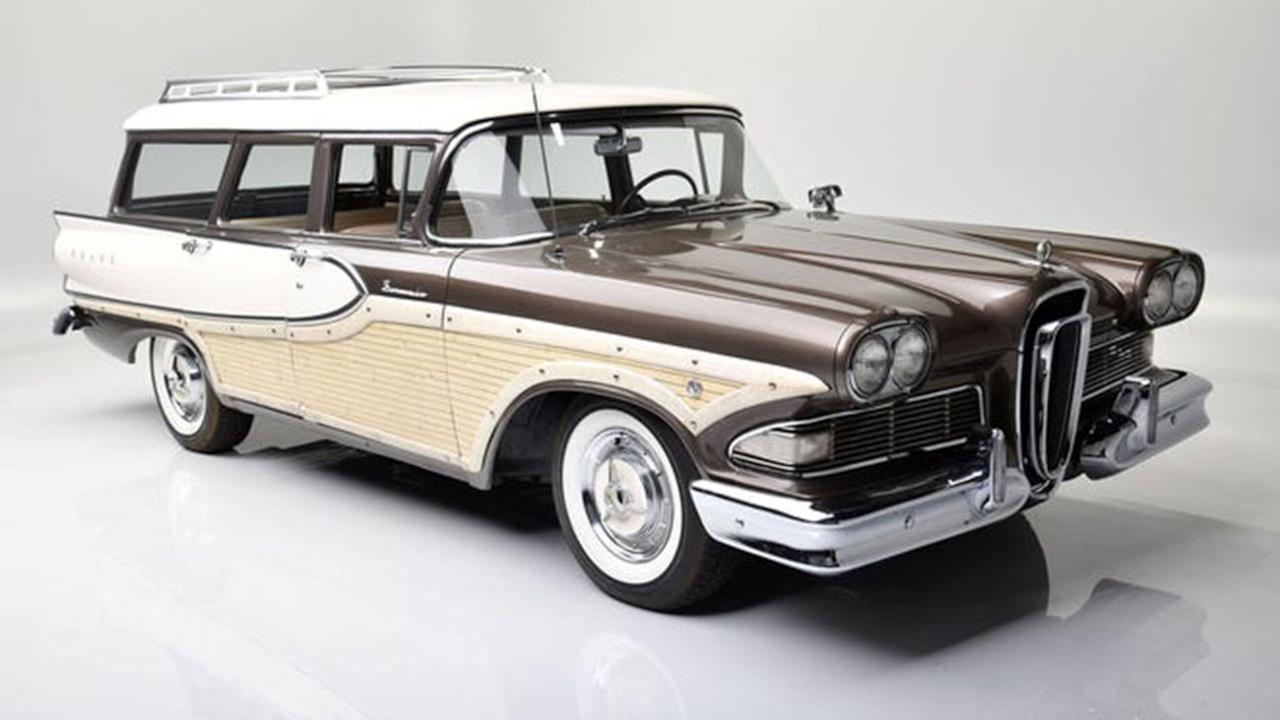 Ford Stock - Edsel Ford II is selling his 1958 Edsel Bermuda station wagon