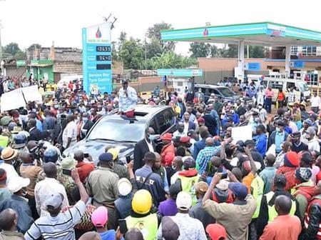 Businesses Come To A Standstill In Kiambaa, Kiambu County As Ruto Addresses Residents