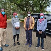 Former Prime Minister Raila Odinga Meets The Family Of Former Kenya 7s Coach Benjamin Ayimba