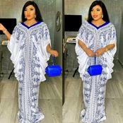 See Classy Lace Asoebi Designs To Rock Before And After The Pregnancy (Photos)