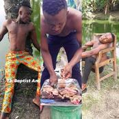 Papi Water Taught Followers How To Prepare 'Pepper Soup' On FB