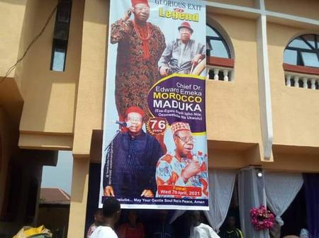 Popular Igbo Music Legend Has Finally Been Laid To Rest (Photos)