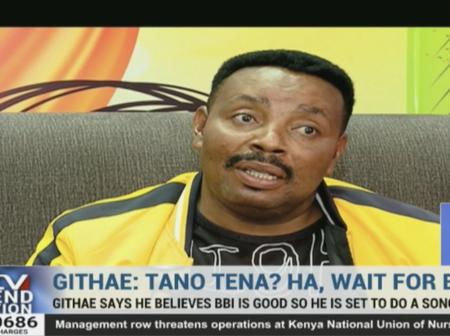 Furious Kenyans React to Ben Githae After Hinting at pro-BBI Song
