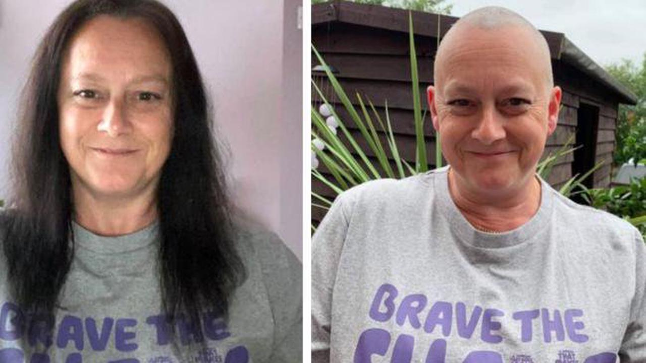 Isle of Wight woman braves shave for Macmillan cancer support