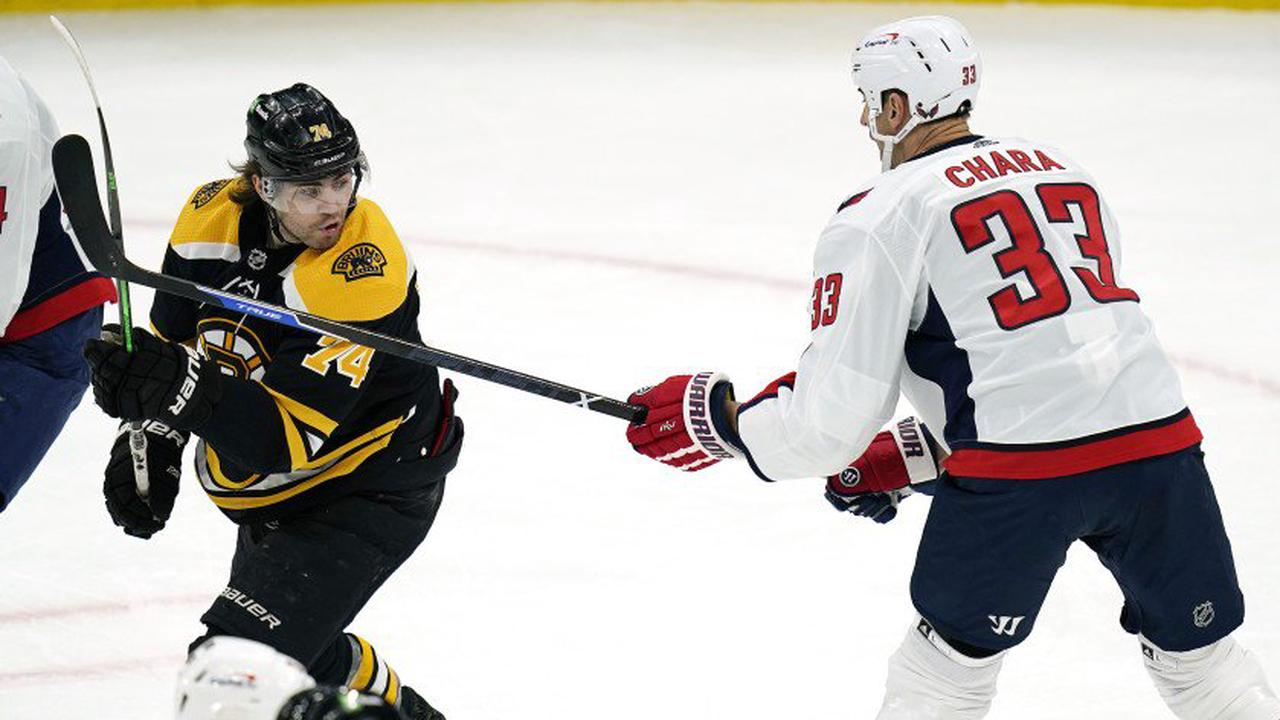 Capitals beat Bruins in shootout in Chara's Boston return