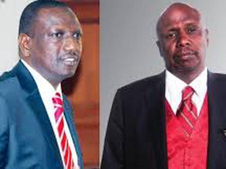 Drama At A Funeral As Baringo South Youths Carry BBI Placards Sending Message DP Ruto A Message