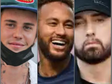 Between Neymar, Eminem And Justin Bieber: Who Is Richer?