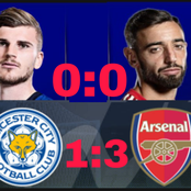 After Arsenal beat Leicester City, and Chelsea vs Man United ended in a draw, see the EPL table