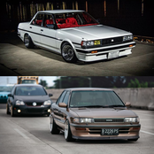 Toyota Corolla vs Toyota Cressida, Real Legends. See the Specs and Pics below