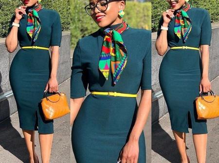 Ladies, Checkout These Beautiful Corporate You Can Wear To Work