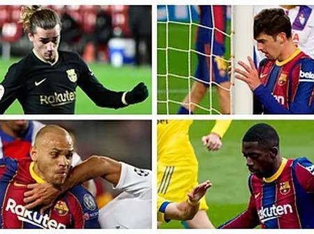 Le Barça désespère avec le but: beaucoup de tir, un minimum de réussite