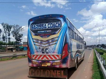 Kisii and Eldoret Residents Celebrate The First Visit Of Garissa Bound Bus G-Coach In There Town