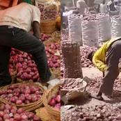 Farmers And Traders In Kano Lament As Bag Of Onion Sold In The South for N35k Falls To N7k in North