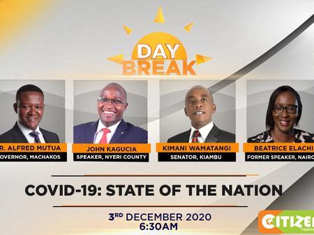 Kenyans react after Citizen Tv revealed their panellists tonight