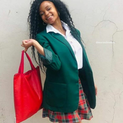 South African school girls fashion and academics.