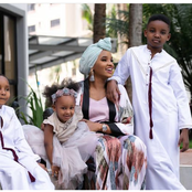 Meet Lulu Hassans' Kids Who Have Grown So Cute