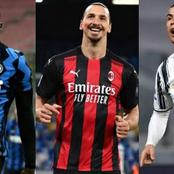 After Ronaldo Scored To Overtake Lukaku, See His Position On The Seria A Top Scorers List