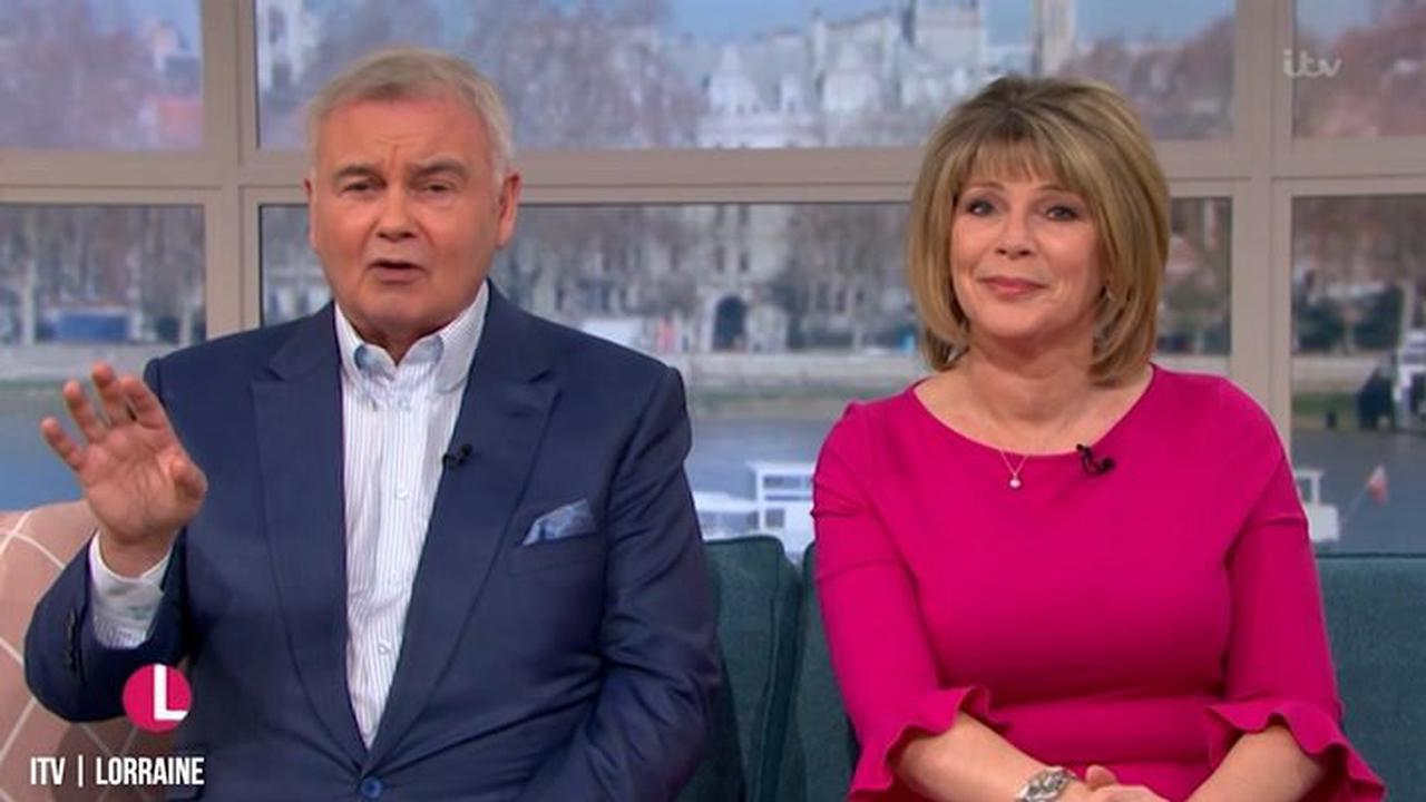 Eamonn Holmes has steroid injections to help with chronic pain