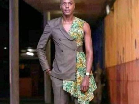 See This Picture Of A Man That Stirs Reactions Due To The Cloth He Wore