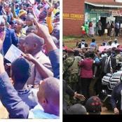 Nyeri Residents Boycotts Uhuru's Roadside Tours While a Mammoth Welcomes Ruto
