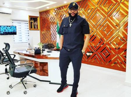 E-Money Shows Off His Beautiful Office, Says