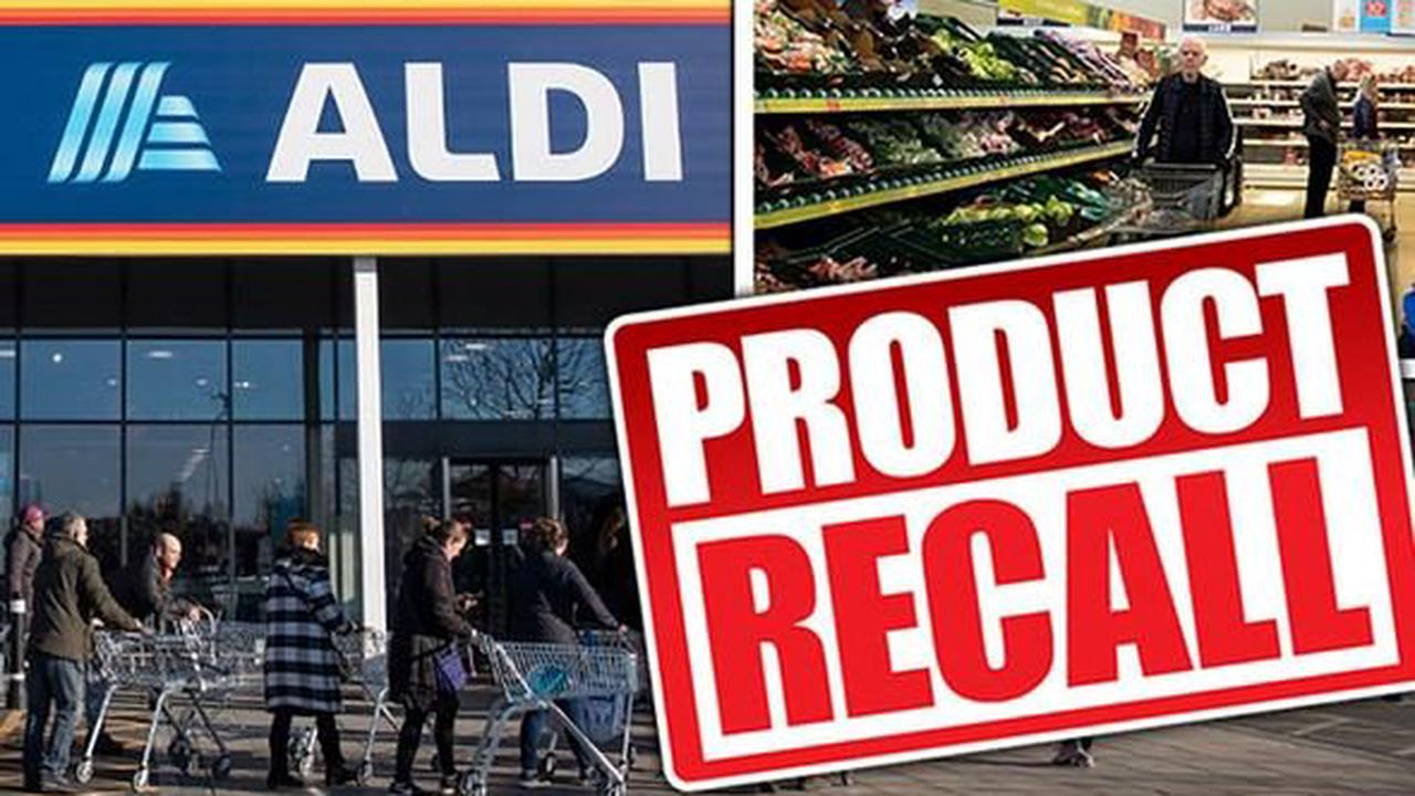Food recall UK: Aldi & Tesco recall products due to presence of plastic and allergy fears