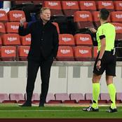 Ronald Koeman's reaction to Barcelona comeback win against Sevilla
