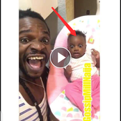 Video: See The Crazy Stunt A Father Pulled On His Crying Baby, Which Got Him To Keep Quiet Instantly