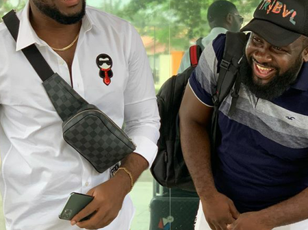 Kennedy Osei shares photos as he mourn his friend Kwadwo Wiafe