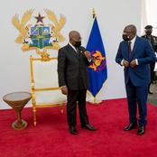 Powerful pictures drop as President Nana Addo swears in new members of Council of State