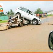 Yamoussoukro : accident ce matin en plein centre ville, plusieurs blessés signalés