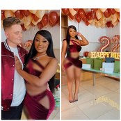 Checkout The Birthday Photos of Young Lady And Her Boyfriend That Got Reactions Online