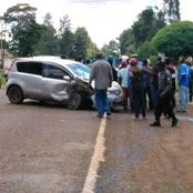 7 Passengers Escape Death By A Whisker In A Grisly Embu Accident