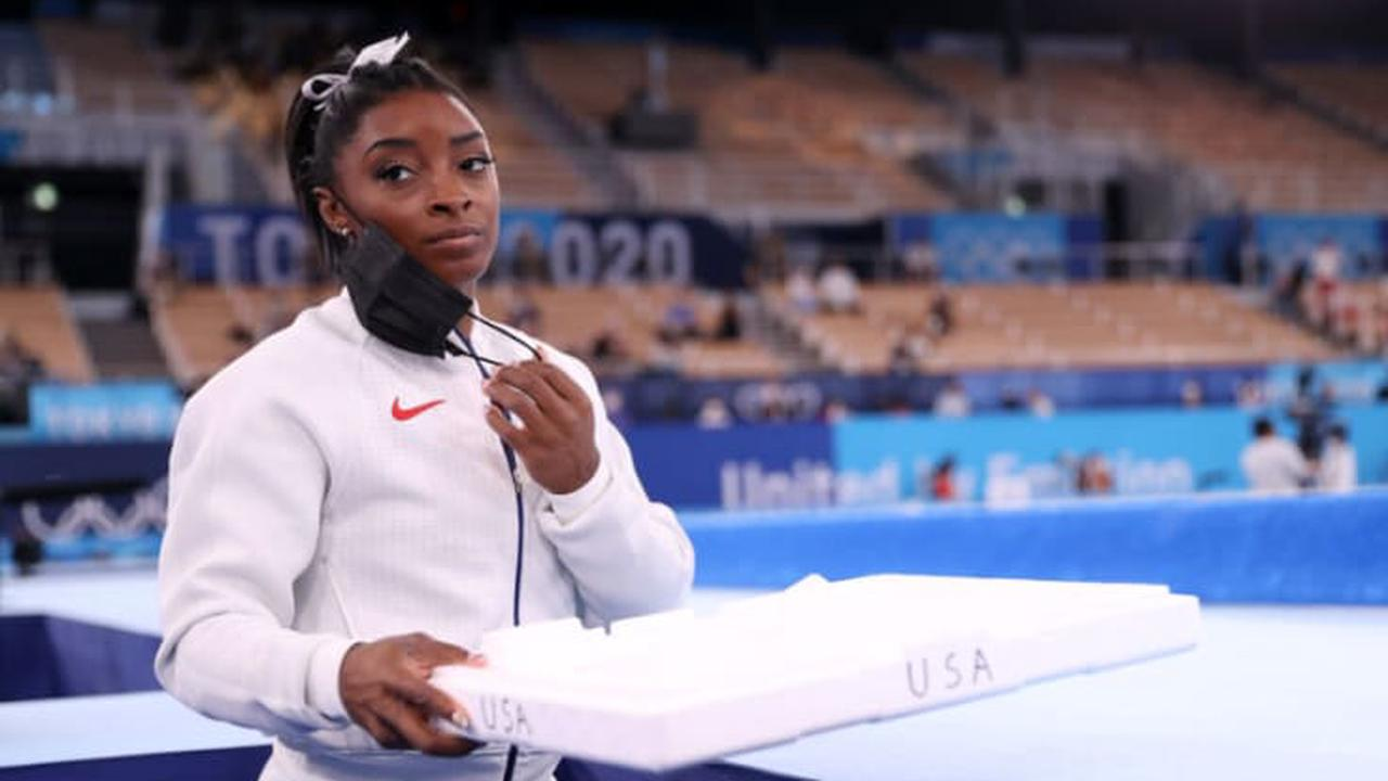 Hollywood stars share support for Simone Biles after Olympics event withdrawal