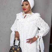 Mothers Day Is Around The Corner, See Some Beautiful White Kaftans You Can Slay With