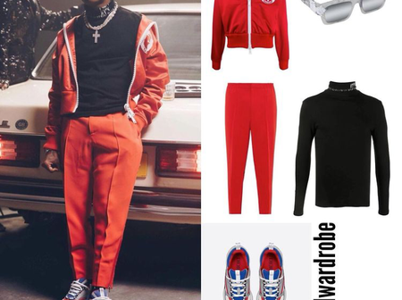 Check out the huge amount of money Wizkid recently spent on his outfits, the amount can buy a car
