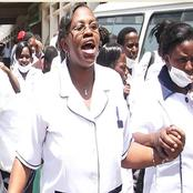 Nurses in Nakuru Hospital Deliver Heartbreaking News To the Ministry Of Health