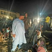 Governor of Borno State storms camp at midnight for headcount to fish out fake IDPs