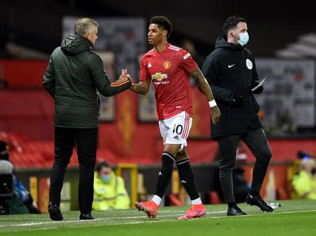 Ole Reveals why Rashford was taken off early vs Brighton, discusses how many games he could miss