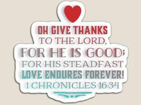 Thanksgiving Releases Joy and Fresh Strength.