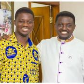 Bishop Agyin Asare Appoint his first born son as Perez Dome Resident pastor [See pictures]
