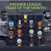 Premier League And Bundesliga Team For The Month Of February