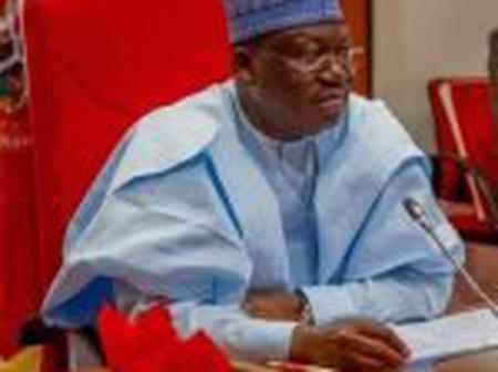 Lawan Clears Air On His Support For Buhari Third Term In Office