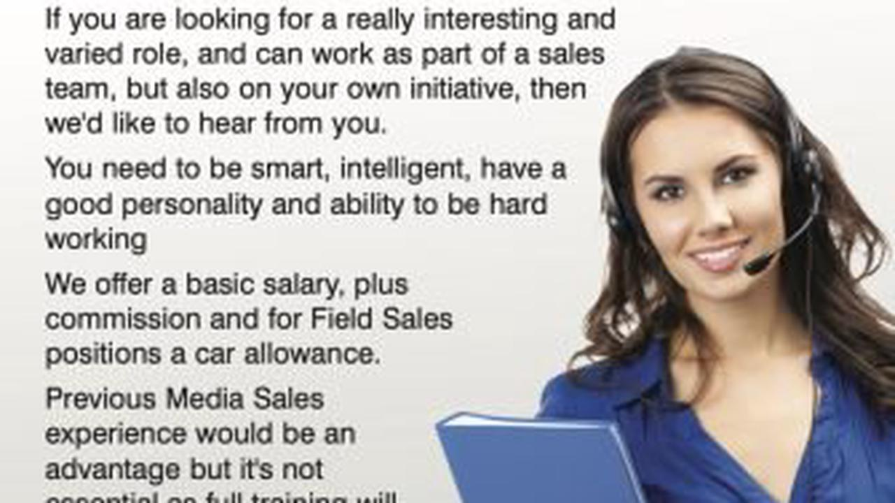 LOOKING FOR SALES STARS: Are you outgoing, organised, smart, driven and love networking?