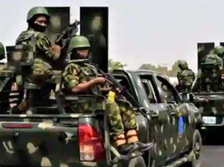 Imo Attacks: Army Begins Show of Force, Floods Owerri Streets with Troops