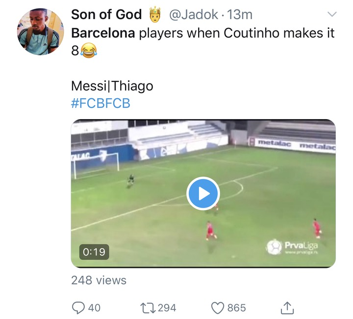 14bada6a2f3bd88f692588f8733f8f81?quality=uhq&resize=720 - See how football fans trolled Barcelona after losing 8 goals to 2 against Bayern Munich