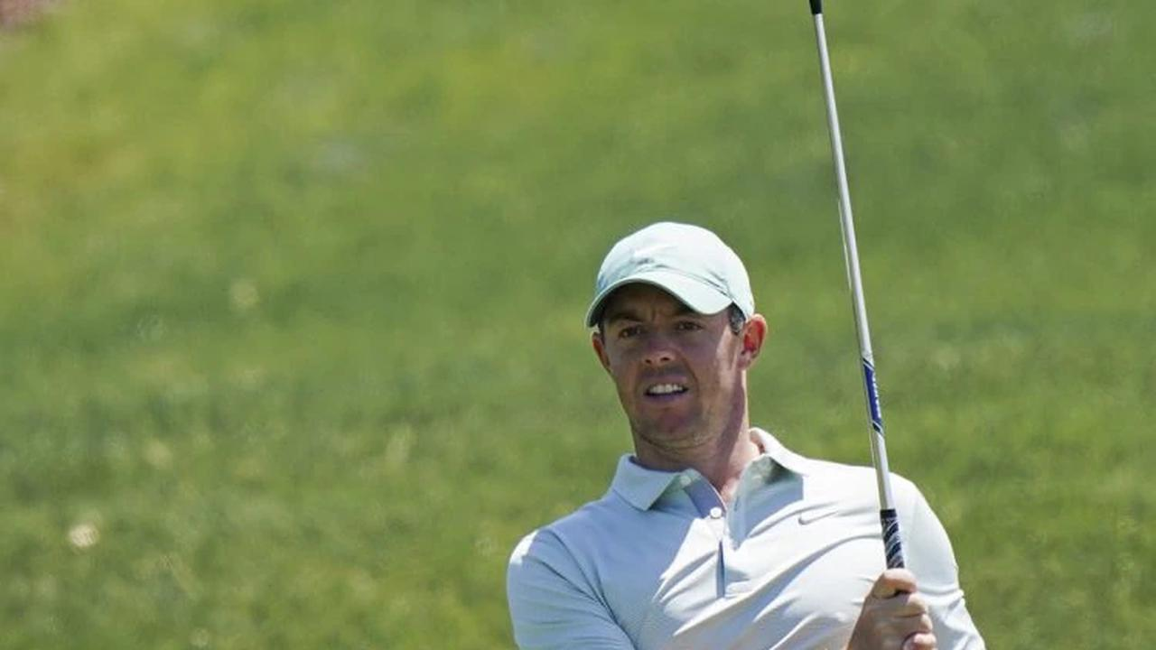 Rory McIlroy shows the stomach for a fight as the Northern Irishman put himself in position for his first victory in 550 DAYS at the Wells Fargo Championship in North Carolina