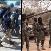 Days After 101 Soldiers Fled Away, See What Happened At The Military Base In Kastina