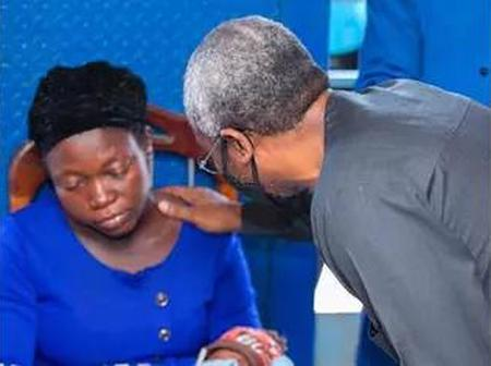 After Her Husband's Death, Widow of Vendor Killed By Gbajabiamila's Aide Disowns Family