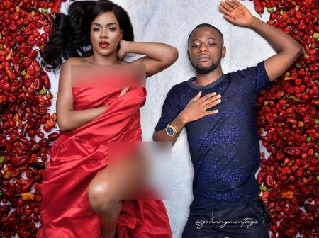 Days after Venita posted a photo with pepper, see what this man did that made it seem he was there
